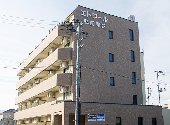 弘前 オール電化・オートロックマンション